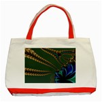 Fractal34 Classic Tote Bag (Red)