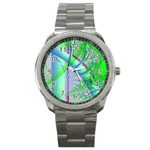 Fractal34 Sport Metal Watch