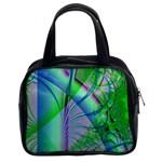 Fractal34 Classic Handbag (Two Sides)