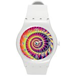 Fractal34 Round Plastic Sport Watch Medium