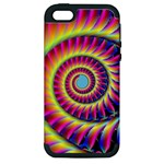 Fractal34 Apple iPhone 5 Hardshell Case (PC+Silicone)