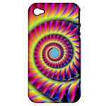 Fractal34 Apple iPhone 4/4S Hardshell Case (PC+Silicone)
