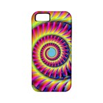 Fractal34 Apple iPhone 5 Classic Hardshell Case (PC+Silicone)