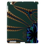 Fractal34 Apple iPad 3/4 Hardshell Case (Compatible with Smart Cover)