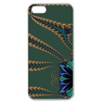 Fractal34 Apple Seamless iPhone 5 Case (Clear)
