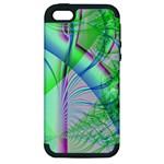 Fractal34 Apple iPhone 5 Hardshell Case (PC+Silicone)