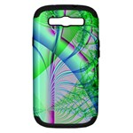 Fractal34 Samsung Galaxy S III Hardshell Case (PC+Silicone)
