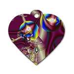 Design 10 Dog Tag Heart (One Side)