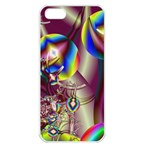 Design 10 Apple iPhone 5 Seamless Case (White)