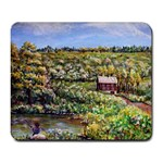 Tenant House in Summer by Ave Hurley - Large Mousepad