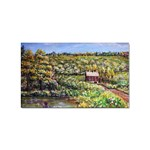 Tenant House in Summer by Ave Hurley - Sticker (Rectangular)