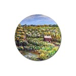Tenant House in Summer by Ave Hurley - Magnet 3  (Round)