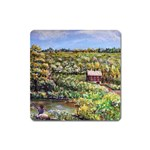 Tenant House in Summer by Ave Hurley - Magnet (Square)