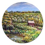 Tenant House in Summer by Ave Hurley - Magnet 5  (Round)