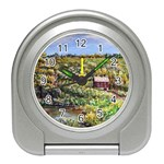 Tenant House in Summer by Ave Hurley - Travel Alarm Clock