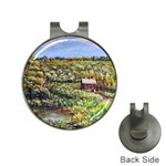 Tenant House in Summer by Ave Hurley - Golf Ball Marker Hat Clip