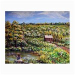 Tenant House in Summer by Ave Hurley - Glasses Cloth (Small)