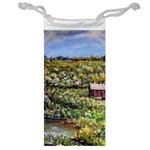 Tenant House in Summer by Ave Hurley - Jewelry Bag