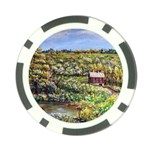 Tenant House in Summer by Ave Hurley - Poker Chip Card Guard