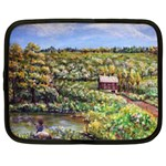 Tenant House in Summer by Ave Hurley - Netbook Case (Large)