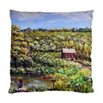 Tenant House in Summer by Ave Hurley - Cushion Case (Two Sides)