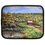 Tenant House in Summer by Ave Hurley - Netbook Case (XXL)