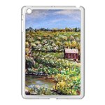 Tenant House In Summer  by Ave Hurley  ArtRave.com/AH-001 Apple iPad Mini Case (White)