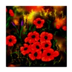 Poppies   by Ave Hurley ~ ArtRave.com Tile Coaster