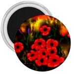 Poppies   by Ave Hurley ~ ArtRave.com 3  Magnet