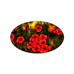 Poppies   by Ave Hurley ~ ArtRave.com Sticker (Oval)
