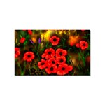 Poppies   by Ave Hurley ~ ArtRave.com Sticker Rectangular (10 pack)