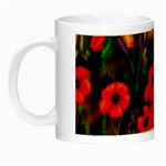 Poppies   by Ave Hurley ~ ArtRave.com Night Luminous Mug