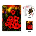 Poppies   by Ave Hurley ~ ArtRave.com Playing Cards Single Design