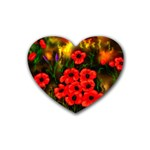 Poppies   by Ave Hurley ~ ArtRave.com Heart Coaster (4 pack)