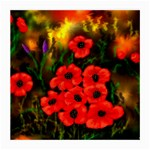 Poppies   by Ave Hurley ~ ArtRave.com Glasses Cloth (Medium, Two Sides)