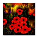 Poppies   by Ave Hurley ~ ArtRave.com Face Towel