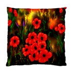 Poppies   by Ave Hurley ~ ArtRave.com Cushion Case (Two Sides)