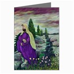 Jesus Overlooking Jerusalem-by AveHurley-ArtRevu- Greeting Cards (Pkg of 8)