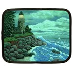Jerry s Lighthouse by Ave Hurley - Netbook Case (XXL)