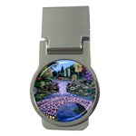 My Garden By Ave Hurley Ah 001 163 Original 1 45mg Money Clip (Round)