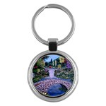 My Garden By Ave Hurley Ah 001 163 Original 1 45mg Key Chain (Round)