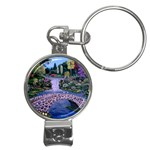 My Garden By Ave Hurley Ah 001 163 Original 1 45mg Nail Clippers Key Chain