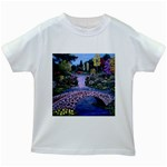 My Garden By Ave Hurley Ah 001 163 Original 1 45mg Kids White T-Shirt