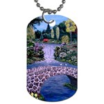 My Garden By Ave Hurley Ah 001 163 Original 1 45mg Dog Tag (One Side)