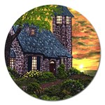 Essex Lighthouse by Ave Hurley - Magnet 5  (Round)