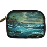 Hobson s Lighthouse by Ave Hurley - Digital Camera Leather Case