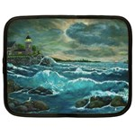 Hobson s Lighthouse by Ave Hurley - Netbook Case (XXL)