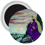 Jesus Looking At The Temple   Ave Hurley  Ah 001 159 3  Magnet