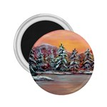 Jane s Winter Sunset by Ave Hurley - 2.25  Magnet