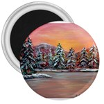 Jane s Winter Sunset by Ave Hurley - 3  Magnet